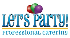 Let's party logo